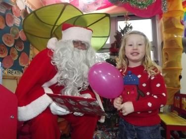 Layla and Santa